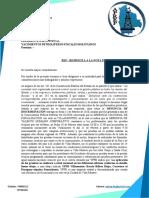 CARTA DE RESPUESTA A YPFB