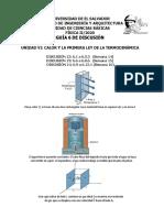 GUÍA 6 DE DISCUSIÓN 2020 (D12_ D13 y D14). CALOR Y LA PRIMERA LEY DE LA TERMOD