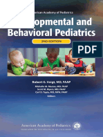 AAP Developmental and Behavioral Pediatrics 2nd Edition