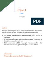 CASE 1 OB Gyne