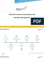 HirePro_Proctored Assessment and Selection Management Solution