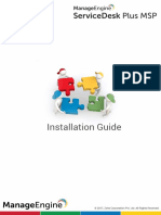 ManageEngine_ServiceDeskPlusMSP_8.1_Help_InstallationGuide