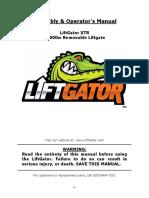 LiftGator-XTR-User-Manual