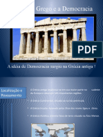 O Mundo Grego e a Democracia