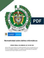 LEGALIDAD DELITOS INORMATICO EN COLOMBIA