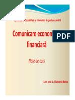 Curs 1 - Comunicare   economico-financiara ID