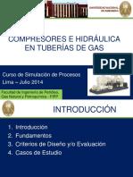 Compresores e Hidráulica en Tuberías de Gas
