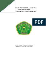 Sampul Panduan Pengelolaan data dan Informasi