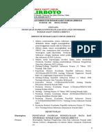 SK Panduan Pengelolaan data dan Informasi