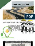 ESTUDIOS TECNICOS DE CARRETERAS