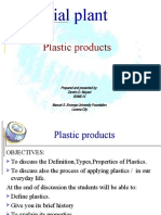 Plastic Products.......