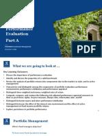 Portfolio Performance Evaluation Part A-2