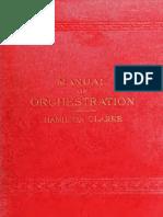 Manual of Orchestration Hamilton
