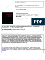 Stories from planet football and sportsworld Source relations and collusion in sport journalism.en.es