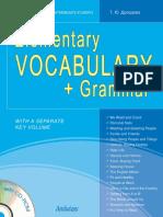 Elementary Vocabulary Grammar - 2012 Drozdova T Yu