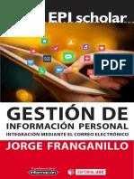 Gestión de información personal integración mediante el correo e