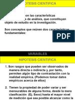 VARIABLE y DEFINICIÓN OPERACIONAL - MIC UCV