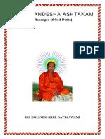 DattaSandeshaAshtakam