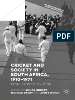 Cricket and Society in South Africa, 1910–1971_ From Union to Isolation ( PDFDrive.com ).pdf