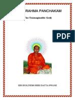 Parabrahma Panchakam