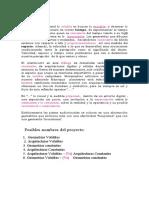 Texto cocnceptual  Geometrías volubles