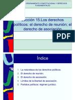Lección 15. Los derechos políticos. el derecho de reunión. el derecho de asociación.pdf