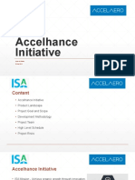 Accelhance Initiative Presentation