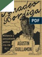 Militancia y Pensamiento Politico de Amadeo Bordiga 1910 1030 Vol II