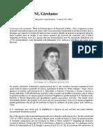 Biografia Di Girolamo Crescentini (Maria Borgato)