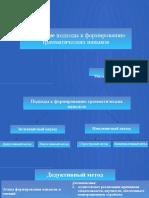 Основные подходы к формированию грамматических навыков.pptx
