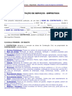 Minuta Contrato de Prestacao de Servicos de Empreitada.doc