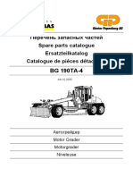 HBM-Nobas Spare Parts Catalogue BG 190TA-4 42 0305)