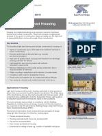 SCI ED012 Light Steel Framed Housing