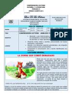 GUIA DE COMPRENSION LECTORA. 4°