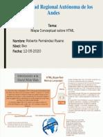Fernanadez Roberto Mapa Conceptual sobre HTML 12 mayo 2020