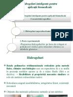 LP 5- Hidrogeluri pentru aplicatii  biomedicale