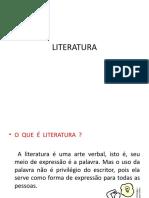 A literatura e suas funções. Estilo individual e estilo de época.