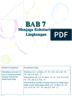 BAB 7-Menjaga Kelestarian Lingkungan