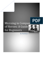 Microing in Company of Heroes - A Guide for Beginners by MacBryce