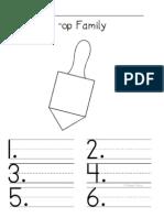 O Word Family Folder Set
