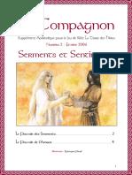 La Terre des Héros - Le Compagnon n°2 - Serments et Sentiments (Février 2006)