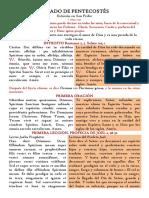 Sábado de Pentecostés -Forma missae brevior