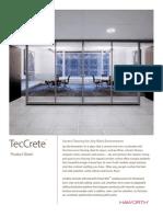 TecCrete Product Information Sheet