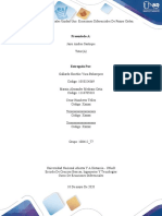 Unidad 1 Tarea 1 - Resolver problemas y ejercicios de ecuaciones diferenciales de primer orden