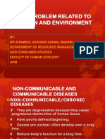 COMMUNCABLE AND NON-COMMUNICABLE DISEASES