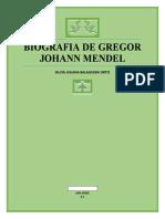 BIOGRAFIA DE GREGON JOHANN