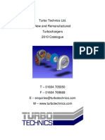 Catalogue Turbos