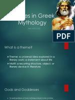 Themes in Greek Mythology