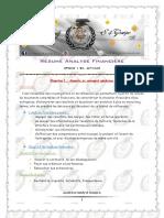 Résumé Analyse Financière