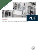 01 PMR355 Gearless Machine